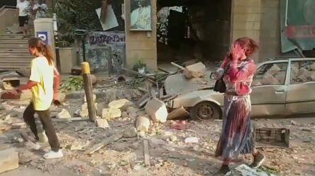 Explosions à Beyrouth: la capitale dévastée