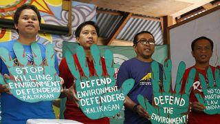 Филиппинские активисты требуют прекратить насилие