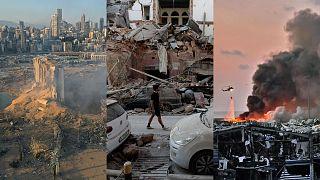 Collage di foto AP/AFP
