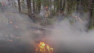 A recent heatwave has been exacerbating fires across parts of Russia