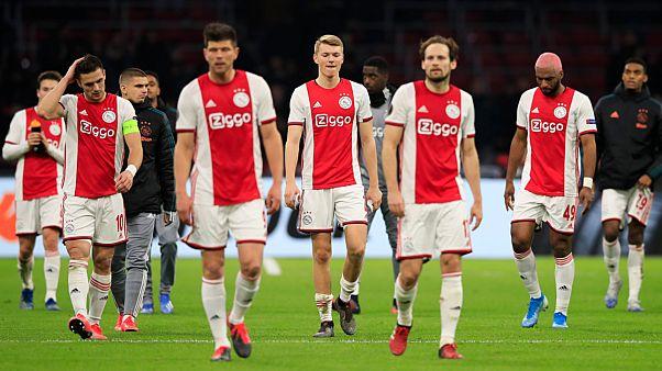 لاعبو أياكس الهولندي