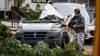 طوفان ایسایاس در آمریکا