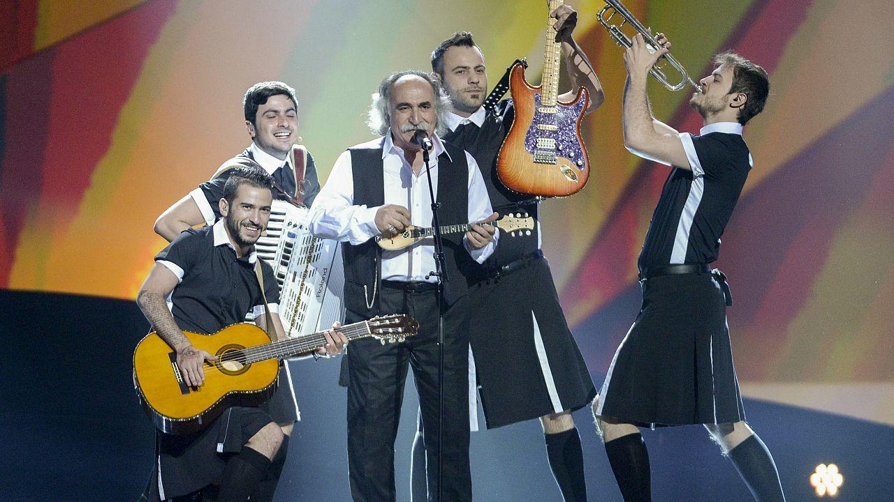 Ο Αγάθωνας και η Koza Mostra στην Eurovision το 2013