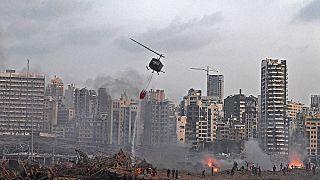 Beyrut patlama sonrası