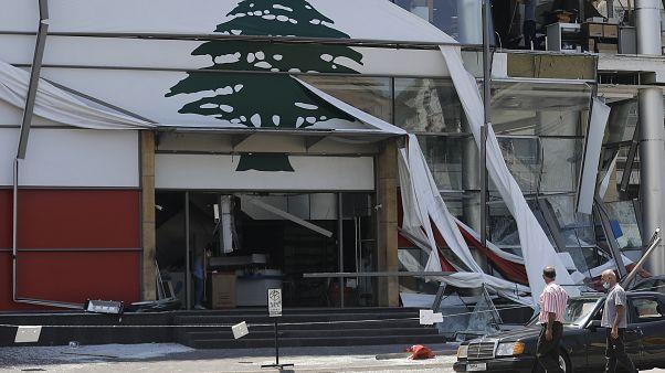 خسارت انفجارهای بیروت