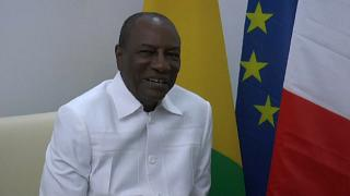 Guinea PM stands for Alpha Conde