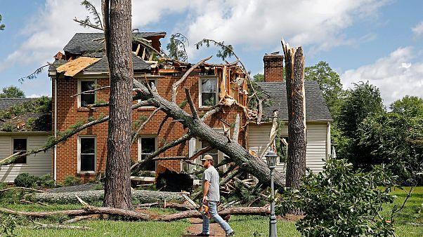 ABD'de Isaias Kasırgası 9 can aldı