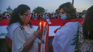 Világszerte virrasztanak Libanonért