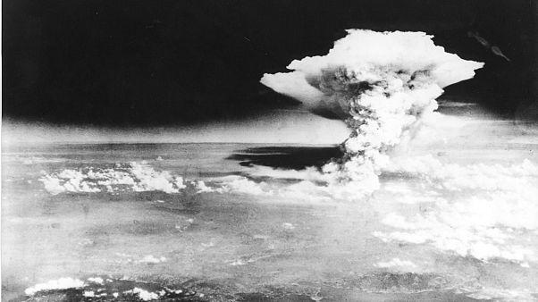 Бомбардировка Хиросимы. 6 августа 1945.