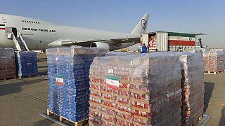 ارسال کمک ایران به لبنان