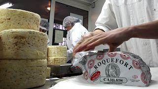 Сырная фабрика во Франции