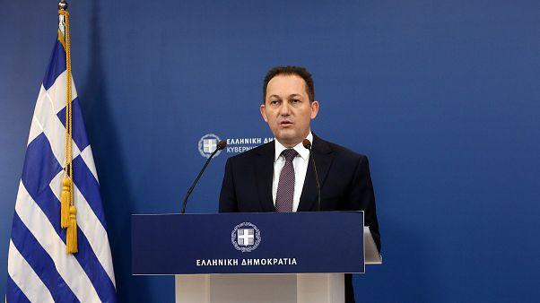 Ο κυβερνητικός εκπρόσωπος της Ελλάδας Στέλιος Πέτσας