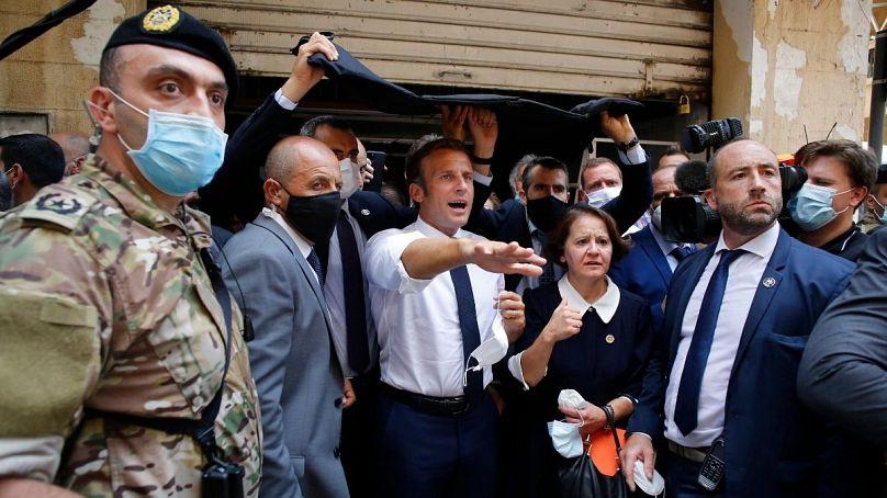 ماکرون در بیروت: زمان مسئولیت پذیری رهبران لبنان فرا رسیده است ...