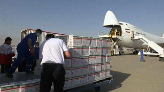 L'aide humanitaire arrive à Beyrouth ce jeudi 06 août.