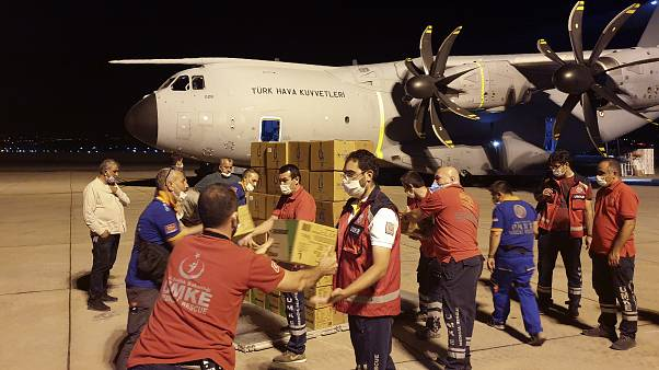 Гуманитарная помощь из Турции