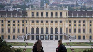 Picknick im Park von Schloss Schönbrunn