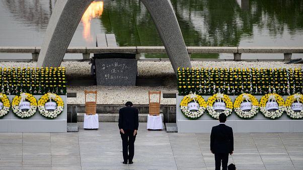 Hiroşima'ya atılan ilk atom bombasının 75. yıl dönümü: Kurbanlar anıldı