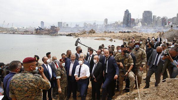 رئیسجمهوری فرانسه در بندر ویران بیروت؛ خلاصه کلام ماکرون چه بود؟