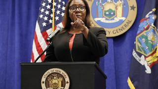 Letitia James alleges top leaders of the gun advocacy group and its head Wayne LaPierre diverted millions of dollars for lavish personal trips.