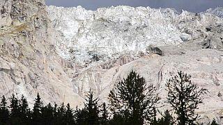Glaciar do Monte Branco italiano ameaça derreter