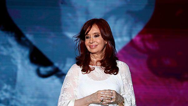 Arjantin Devlet Başkanı Yardımcısı Cristina Kirchner