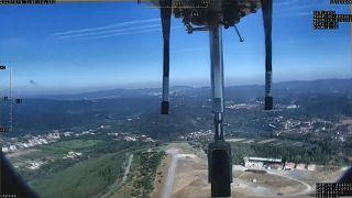 Drohne im Anflug