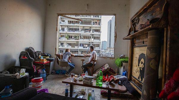 Primeiros funerais das vítimas da explosão em Beirute