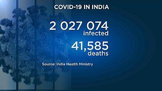 I dati-Covid dell'India. Aggiornati al 7 agosto 2020.
