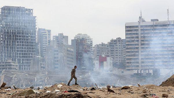 بيروت بعد انفجار المرفأ