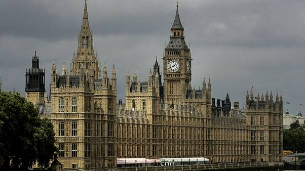 İngiltere Meclis Binası (arşiv)