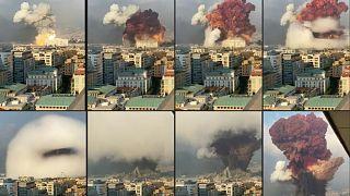 2.750 toneladas de nitrato de amonio habrían provocado las explosiones en Beirut.