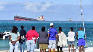 Shipwreck Causes Oil Spill Crisis on the coast of Mauritius