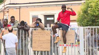 Italia: se disparan los contagios en el centro de acogida de Treviso