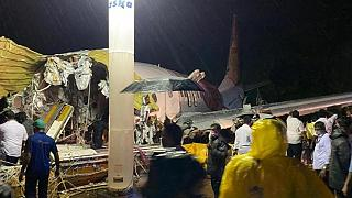 Kaza yapan Air India Express uçağı