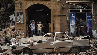 Beirut nach den Explosionen