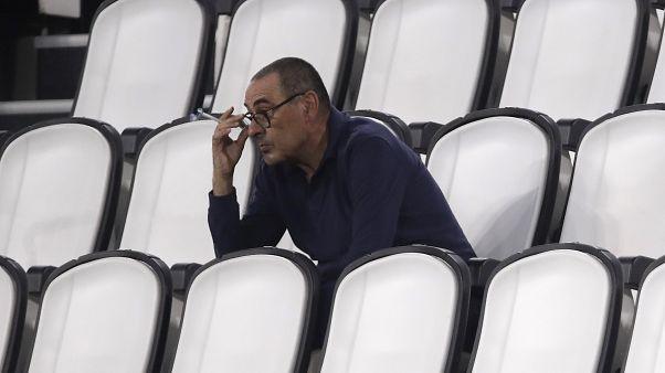 Maurizio Sarri: un uomo solo.