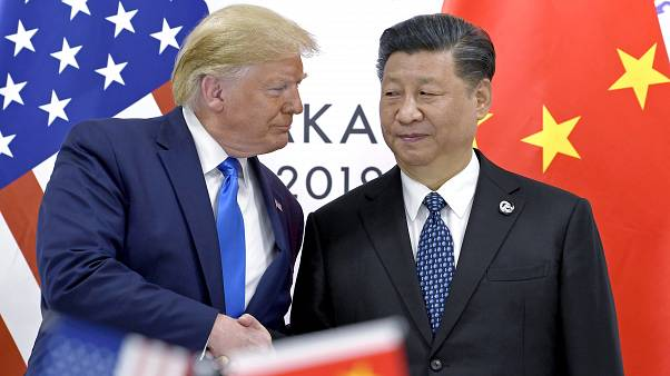 الرئيس الأمريكي دونالد ترامب والرئيس الصيني شي جين بينغ