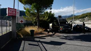 مخيّم سابق في مدينة فنتيميليا الإيطالية