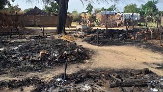 بعد هجوم على إحدى القرى في دارفور الصيف الماضي
