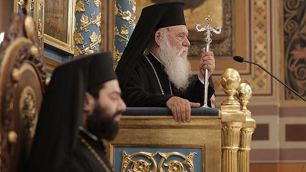 Ο Αρχιεπίσκοπος Αθηνών Ιερώνυμος