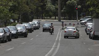أحد شوارع العاصمة الإيرانية طهران