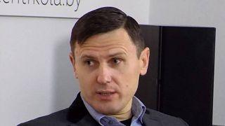 Alekszandr Burakov, a DW letartóztatott minszki tudósítója