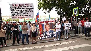anti-Kremlin rallies in Khabarovsk
