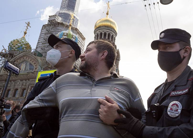 Dmitri Lovetsky/Copyright 2020 The Associated Press. All rights reserved