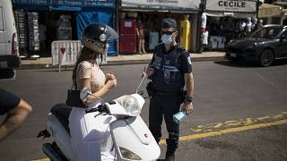 A Saint-Tropez, le masque devient obligatoire dans la rue
