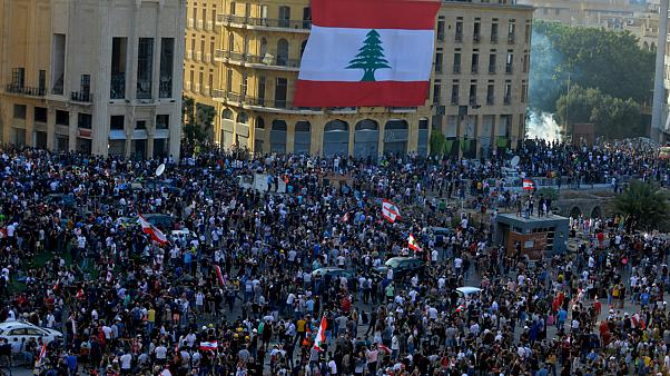 Beyrut'ta protesto