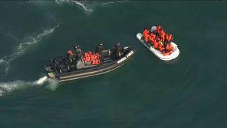 Canal da Mancha bate recorde de migrantes ilegais