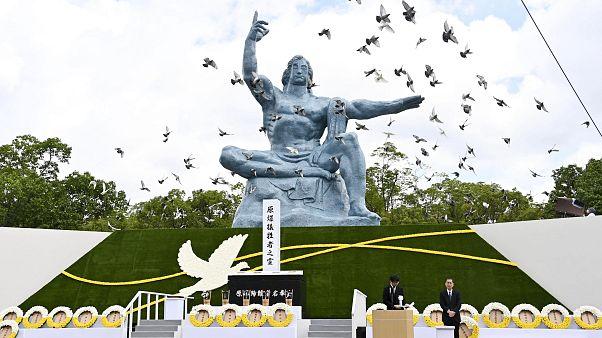 Bomba atómica em Nagasaki lançada há 75 anos
