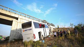 İstanbul'da otobüs kazası