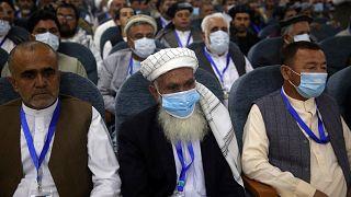 تصویری از لویه جرگهٔ مشورتی صلح افغانستان